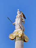 Statue of goddess Athena, Athens, Greece royalty free stock image
