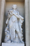 Statue of Goddess in Barcelona Stock Photography