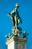 Statue of Goddess Diana on pedestal in Munich Stock Photography