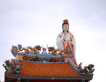 Statue of the Goddess Guanyin Royalty Free Stock Photos