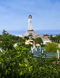 Statue of the goddess Guanyin Royalty Free Stock Photography