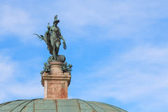 Statue of the goddess of hunt, Diana in Hofgarten, Munich Royalty Free Stock Images