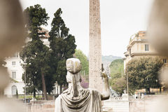 Statue of the goddess Roma Stock Image
