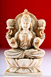 Statue of Goddess Saraswati Stock Photography