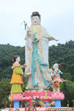 Guan Yin Buddha Statue Stock Photography