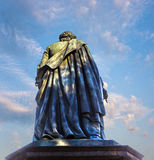 Statue of Goethe Frankfurt Stock Photo