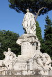 Statue of Goethe in Rome Stock Photography