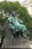 Statue of Goethe in Vienna Royalty Free Stock Photo