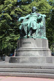 Statue of Goethe - Vienna - Austria Royalty Free Stock Images