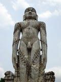 Statue Gomateshwara Bahubali bei Dharmasthala, Karnataka, Indien lizenzfreie stockfotos
