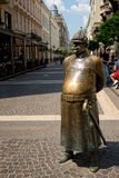 Statue of Good Soldier Svejk in Budapest, Hungary Stock Photos