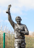 Statue of Gordon Banks Stock Photography