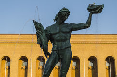 Statue in Goteborg Stock Image