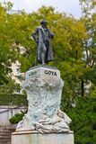 Statue of Goya Stock Images