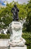 Statue of Goya outside Prado Museum Madrid Stock Photos