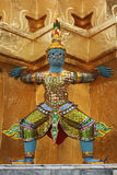 Statue on Grand Palace. At Bagnkok, Thailand Stock Image