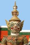 Statue at the Grand Palace, Bangkok (Close-up) Royalty Free Stock Photos