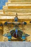 Statue at the Grand Palace, Bangkok. Giant statue at the Grand Palace, Bangkok, Thailand Stock Photo