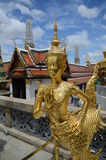 Statue in Grand Palace Bangkok Royalty Free Stock Photography