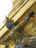 Statue at Grand Palace, Bangkok, Thailand. Ramakien statue on a chedi at the Grand Palace, Bangkok, Thailand Stock Photography