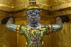 Statue at The Grand Palace Royalty Free Stock Photography