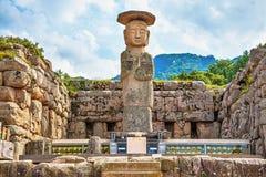Statue grande ou de géant de Bouddha en Corée Image libre de droits