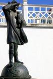 Statue of great navigator stock photo