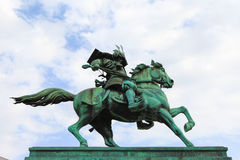 Statue of the great samurai Kusunoki Masashige Stock Photo