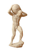 Statue of the Greek god Stock Photography