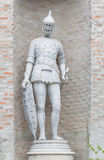 Statue of Greek soldier Stock Photography