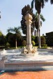 Statue in Garden - Athens, Greece. Statue in Green Garden - Athens, Greece Royalty Free Stock Photos