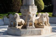 Statue in Garden - Athens, Greece. Statue in Green Garden - Athens, Greece Stock Image