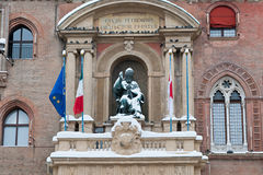Statue of gregorio XIII, bologna Stock Photos