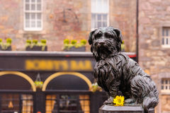 The statue of Greyfriars Bobby Royalty Free Stock Image