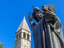 Statue of Grgur Ninski in Split, Croatia Royalty Free Stock Images