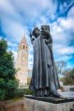Grgur Ninski. Statue of Grgur Ninski in Split, the first bishop in Croatia Royalty Free Stock Photos