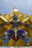 Statue, großartiger Palast, Bangkok Lizenzfreie Stockfotografie