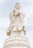 Statue of Guan im.(What about Religion, in Thailand, it is public). Royalty Free Stock Images