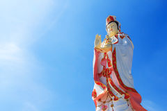 Statue of Guan Yin Stock Photos