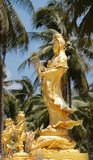 Statue of Guan Yin Chinese Goddess  Mercy Royalty Free Stock Photography