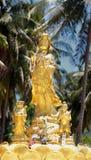 Statue Guan Yin Chinese Goddess of Mercy Stock Photo