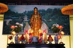 Statue of Guan Yn goddws Royalty Free Stock Photos