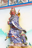 Statue Of Guan Yu (God of honor) Royalty Free Stock Photos