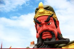 Statue of Guan yu Guan yu Samui Shrine Stock Images