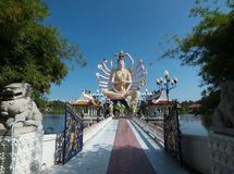 Statue of Guanyin December 2015 Thailand Stock Photography