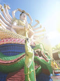 Statue of Guanyin Ko Samui December 2015 Thailand Royalty Free Stock Photography