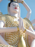 Statue of Guanyin Ko Samui December 2015 Thailand Stock Images
