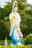 Statue of guanyin in pattaya Stock Photo