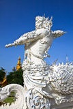 Statue guardian of religious Royalty Free Stock Photo