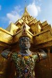 Statue Guardian Stock Photo